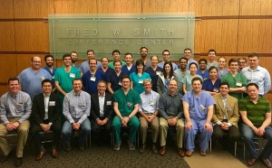 UAMS Welcomes International Otology Fellows for Surgical Course