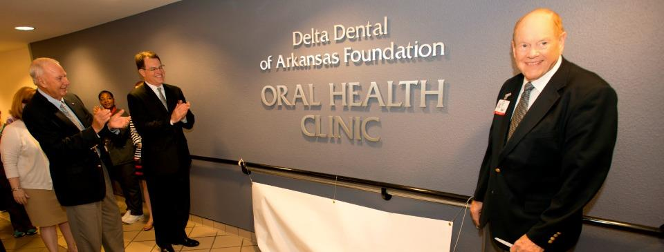 UAMS Names Oral Health Clinic for Delta Dental