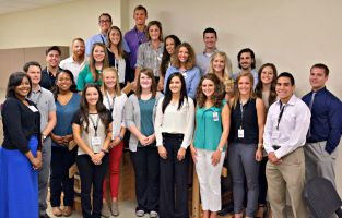 First Physical Therapy Students Begin Classes